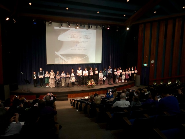 2019 Marian Filice Youth Piano Competition Music Festival